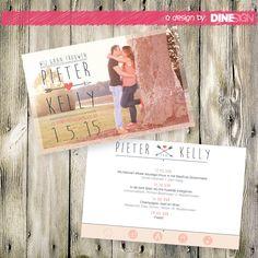 Trouwkaart – Pieter&Kelly
