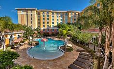 Homewood Suites By Hilton Lake Buena Vista - Orlando Hotel, Fl - Zero-entry Resort Pool