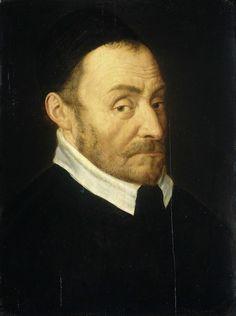 Willem I (1533-84), prins van Oranje, genaamd Willem de Zwijger, Dirck Barendsz., 1582. Willem van Oranje werd in 1577 in het huis op claustraal erf V ontvangen.