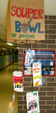 SOUPer Bowl of Caring!