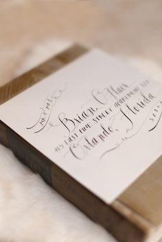 Kalligrafie voor je trouwkaarten, dat doe je zo!