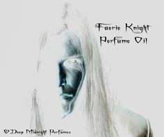 Faerie Knight Perfume Oil  Amber Cedarwood by DeepMidnightPerfumes