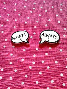 Harry Potter Severus Snape Always Quote Earrings Hogwarts JK Rowling £5.00
