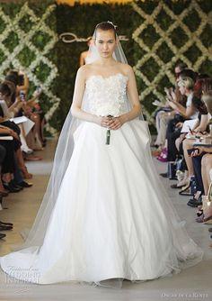 Oscar de la Renta Bridal Spring 2013 Wedding Dress