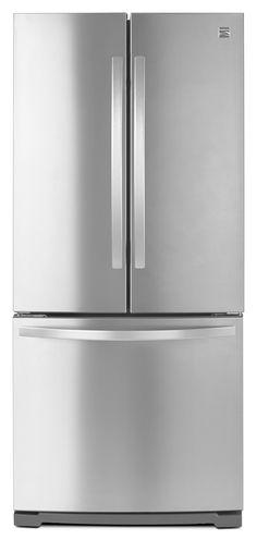 Kenmore 73003 Stainless Steel French Door Fridge—Fresh Food, Versatile Storage