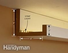 How to Install Elegant Cove Lighting #led #strip #light #indirekt #beleuchtung