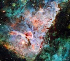 Las nubes de la nebulosa de Carina | Imagen astronomía diaria - Observatorio