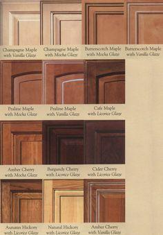 wood door glazing examples @ Cabinet Doors Depot