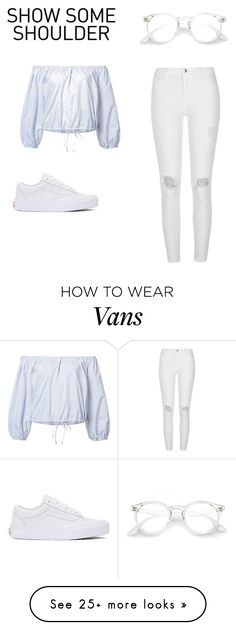 """""""Show Some Shoulder"""" by emmarie06 on Polyvore featuring Sea, New York, River Island, Vans and showsomeshoulder"""
