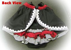 """University of Alabama Crimson Bloomers With /""""BAMA/"""" Embroidered on the Back"""