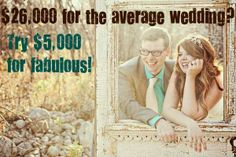How To Have A $5,000, 150 Guests, DIY Wedding (Pin now, read later)