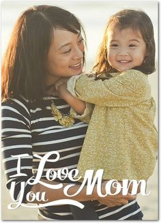 Lovely Moment - Mother's Day Greeting Cards - Magnolia Press - White : Front