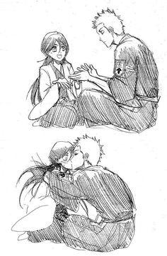 Captain and vice captain Bleach Ichigo And Rukia, Bleach Anime, Bleach Funny, Bleach Couples, Bleach Fanart, Otaku, Anime Ships, Anime Naruto, Anime Love