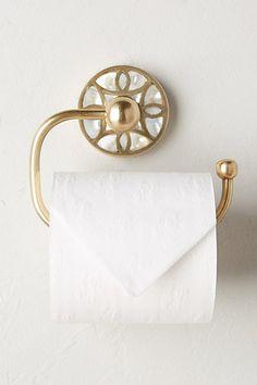 Launis Toilet Paper Holder #anthropologie
