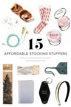 A roundup of the best small and affordable stocking stuffers to give this holiday