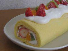 簡単!米粉(上新粉)のロールケーキ生地