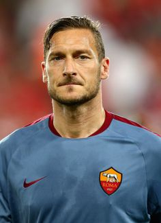 Francesco Totti #Captain #Legend #ASRoma #SerieA #Calcio #Totti #10