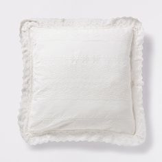 RAISED FLOWER PILLOW - Decorative Pillows - Bedroom | Zara Home United States