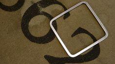 Hops!! Shoes - Scarpe e accessori dallo stile unico - Bracciale rigido in argento - bracciale geometrico quadrato - silver bracelet - square rigid bracelet