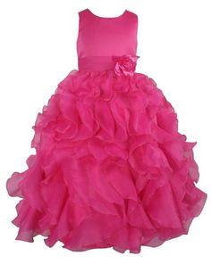 Satin & Organza Party Bridesmaids/Flower Girl Dress Hot Pink 10 Years (F232-10#) go2victoria,http://www.amazon.com/dp/B00HJUVEWC/ref=cm_sw_r_pi_dp_Lklstb16F1AME1PB