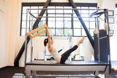 ahh #Pilates. My favorite - Teaser on the cadillac. www.latourpilates.com