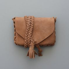 Natural Nubuck Leather Wallet