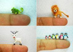 Вязаные животные от Su Ami