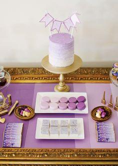Deliciosos dulces para una fiesta morado / Lovely sweets for a purple party
