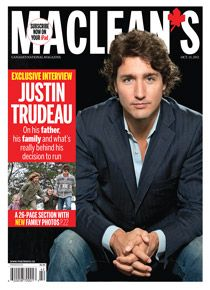 Son of former Canadian Prime Minister, Pierre Elliott Trudeau & our current Liberal prime minister.