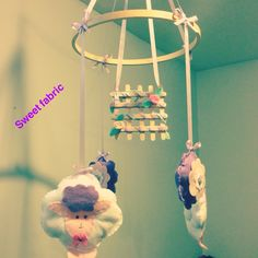 Handmade baby nursery mobile: sleep tight. Wall Banner, Sleep Tight, Handmade Baby, Nursery, Day Care, Baby Rooms, Baby Room, Kid Rooms, Kids Rooms