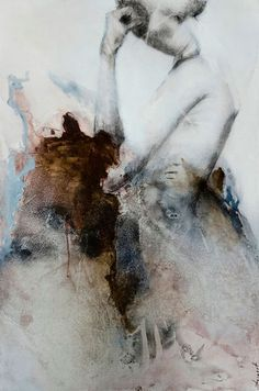 """Inside"" by Virginie Bocaert (Sold works) - mixed media"