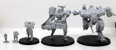 White Dragon Miniatures is raising funds for Marine Tactical Unit - Scale Miniatures on Kickstarter! A range of highly detailed and realistic proportioned sci-fi miniatures from Marines to Mechs from the Shattered Void Universe. Sci Fi Miniatures, Dragon Miniatures, Knight Models, White Dragon, Sci Fi Fantasy, Wild West, The Outsiders, Scale, The Unit