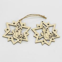 Wooden Laser Cut Holiday Snowflake Bell Ornaments Wood Embellishment Christmas Tree Decoration Hanging Ornament Decor Mix 5 Patterns House Decoration For Christmas House Decorations Christmas From Sjnp05, $0.3| Dhgate.Com
