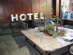 Ace Hotel Lobby: Portland, Oregon. Ace Hotel Portland, Visit Portland, Portland Oregon, Lobby Lounge, Hotel Lobby, Hotel Interiors, Hospitality Design, Best Hotels, Lodges