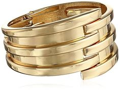 Panacea Gold-Tone Hinge Cuff Bracelet * Continue to the product at the image link.