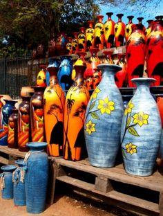 Cerámica en Paraguay es una gran parte de la cultura allí.  Jenn Bass
