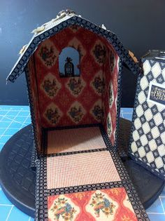 M-Cs Friendship Corner: My Graphic 45 French Country Barn and Mini. Love the inside!