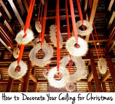 How to Decorate Your Ceiling for Christmas