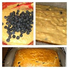 Blueberry Breakfast Bread - 4 Weight Watchers pp Start your day off on the right foot with this energy-boosting blueberry bread.