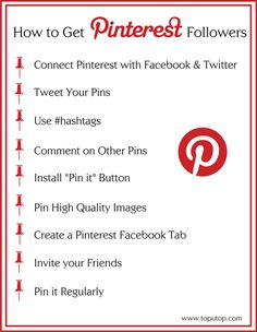 How to Get #Pinterest Followers - A bit pushy, but it works for sure...