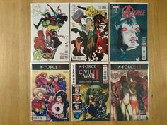 A-Force Vol 2 - Rage Against The Dying of the Light - Complete (6 Comics)
