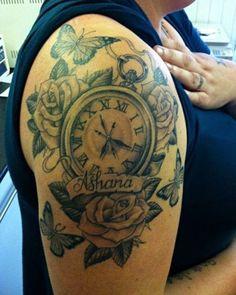 Tatuaje de relojes 2