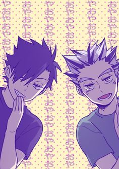 Bokuto and Kuroo ♡ they were awesome at the summer camps (season 2)