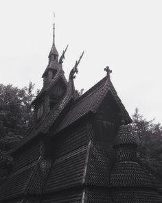 Rebuilt stave church near Bergen, Norway. #norway #bergen #tripcrush ©Cara Harris