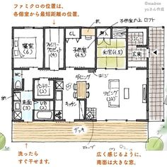 House Inside, Tiny House, Japan House Design, Apartment Layout, Japanese Architecture, Small House Plans, My Dream Home, Dorm Room, Floor Plans