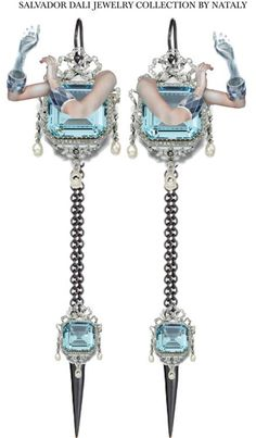 SALVADOR DALI JEWELRY COLLECTION BY NATALY