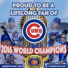 2016 Chicago Cubs!!