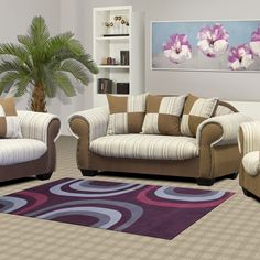 This 3 piece lounge suite seats 6 guests comfortably. Free scatter cushions add to its two-tone features and affordability. Cosy Lounge, Lounge Suites, Scatter Cushions, 3 Piece, Stitching, Armchair, Fabrics, Elegant, Classic
