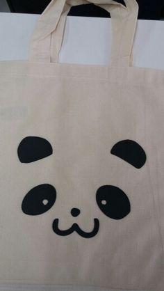 Eco bag panda
