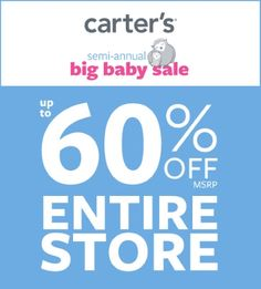 Up to 60% Off* Entire Store